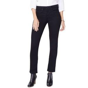 NYDJ Sheri High Waist Slim Jeans MBDMSS2336 Black